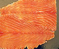 Atlantic  Smoked Salmon Sliced, Skin On ( ~ 2.5. LB), St. James