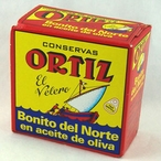 Ortiz White Tuna in Olive Oil, Tin 3.24 oz