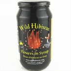 Wild Hibiscus 50 Flowers in Syrup, 2.5 lb Jar