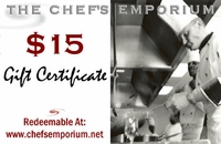 $15 Electronic Gift Certificate