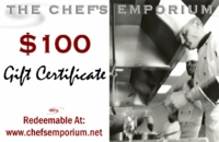 $100 Electronic Gift Certificate