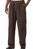 ENZYME UTILITY Baggy Pants in Chocolate Brown