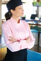 MARBELLA Women's Pink Chef Coat