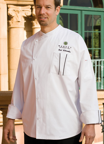 AMALFI Cool Vent Signature Series Chef Jacket
