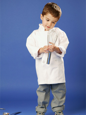 Kid's White Chef Jacket