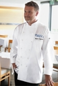 MADRID Egyptian Cotton Chef Coat