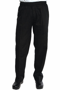 UltraLux BETTER BUILT BAGGY BLACK Chef Pants