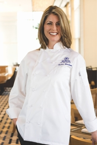 ELYSE Women's Egyptian Cotton Chef Jacket