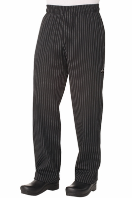 Pinstripe Designer Chef Baggy Pants