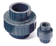 "Threaded PVC Union - 1-1/4"" FPT"