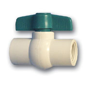 "1-1/2"" Threaded Ball Valve - FPT x FPT - PVC"