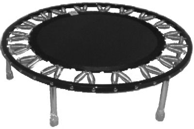 Needak Hard-Bounce Rebounder - Non-Folding