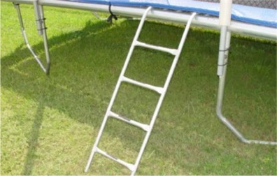 4 Step Ladder For Square  & Rectangle Trampolines