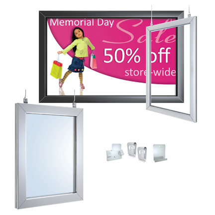 Perfex Hanging Frames - Hanging Sign Frame Kit - for 22\