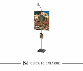 Simple Stand 2'x3' Banner Display