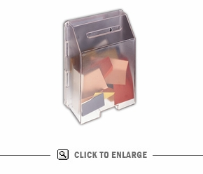 Ballot Box Molded- Frosted