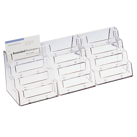 Business gift card displays business card 12 pocket holder for business card 12 pocket holder for countertop display colourmoves