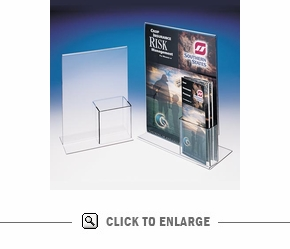 Upright Frame Full Page w/Trifold