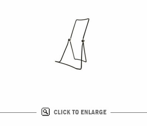 Folding Counter Easel 3-Wire-5-5/8 in. Wide