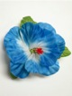 Single Hibiscus  Hair Clip - #3 Blue