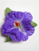 Single Hibiscus  Hair Clip - #20 Purple