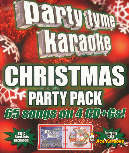Party Tyme Karaoke CDG SYB4447 - Christmas Party Pack