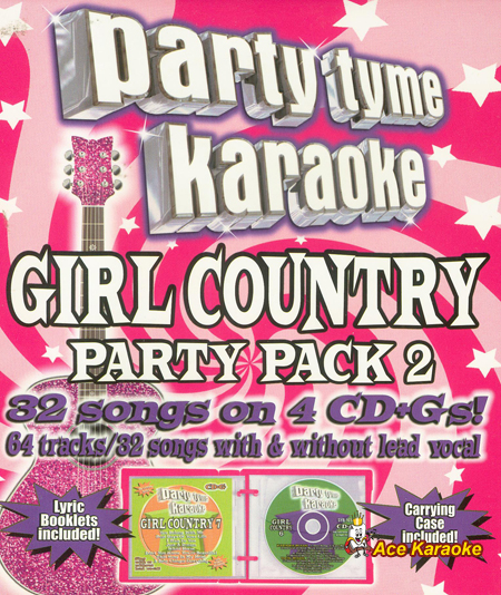 Party Tyme Karaoke CDG SYB4445 - Girl Country Party Pack 2