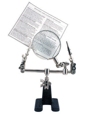 """Adjustable """"Little Helper"""" Magnifying Glass With clips"""