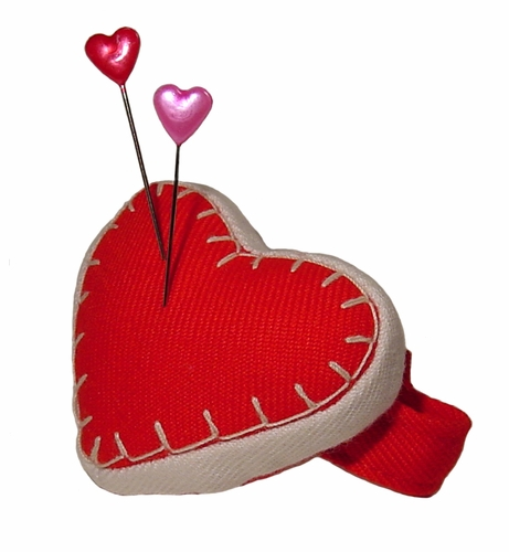 Fons & Porter Red Heart Wrist Pin Cushion