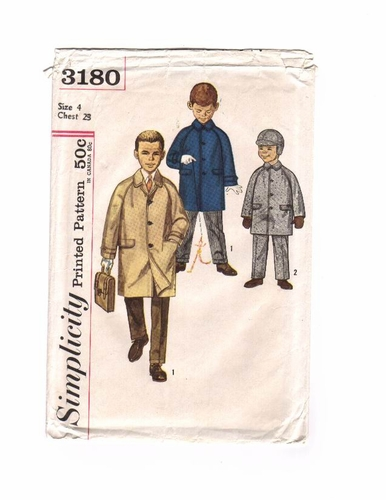 Simplicity 3180 Coat,Pants & Hat