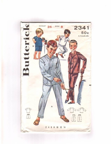 Butterick 2341 Pajamas