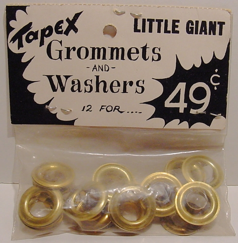 "Vintage ""Little Giant""  Gromets & Washers"