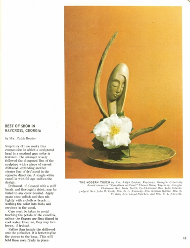 Best Of Show Flower Arrangements Book 8, 1969