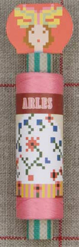 """Arles"" Costumed Cotton Sajou Thread Reel"