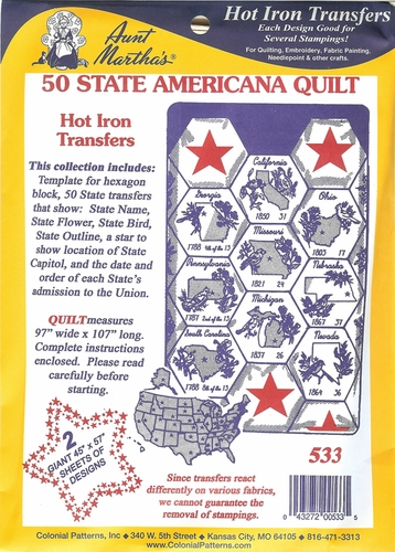 50 State Americana Quilt