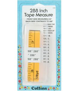 "Collins 288"" Flip-It Tape Measure"