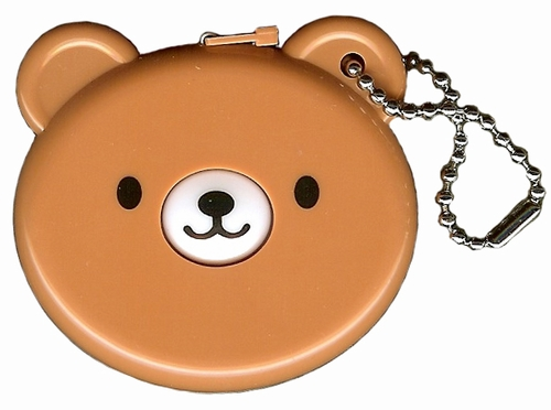 "Teddy Bear 60"" Retractable Measuring Tape"