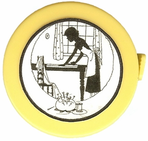 "Acme's ""Cutting Table""  Silhouette Retractable  Measuring Tape"