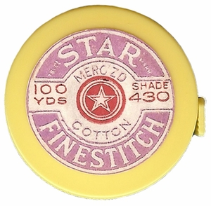 "Acme's ""Star Thread"" Retractable Measuring Tape"