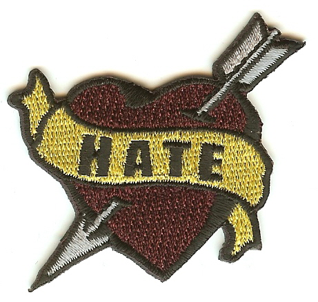 """Hate"" Patch"