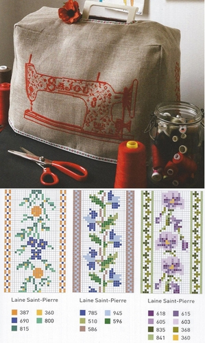 Sajou's Objects And Accessories in Cross Stitch