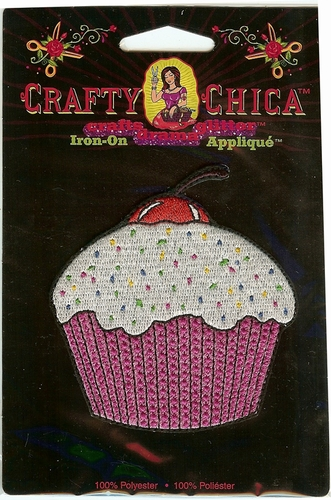 "Crafty Chica ""Cupcake"" Applique"