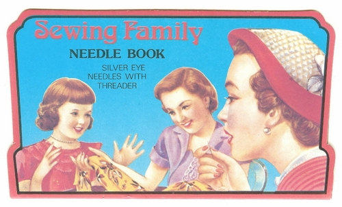 Sewing Family Needle Book