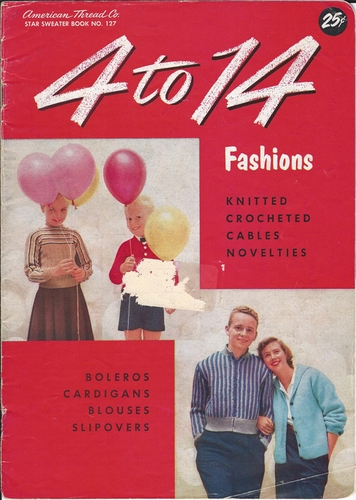 Vintage American Thread #127 4 to 14 Fashions