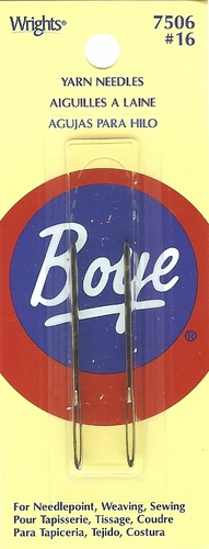 Boye Yarn Needles Size 16