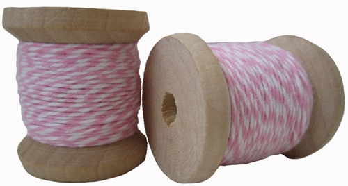 Pink & White Cotton Twine