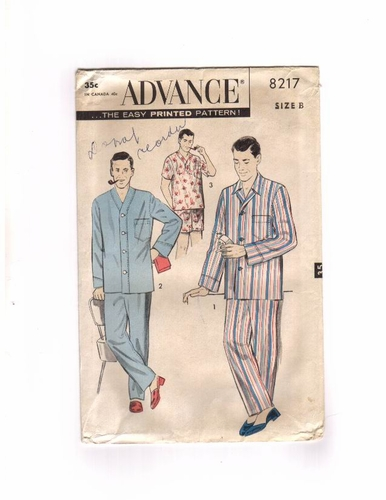 Advance 8217 Pajamas, Size Medium