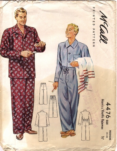 Mc call 4476, Pajamas - B, Size Medium