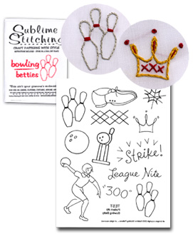 "Sublime Stitching ""Bowling Betties"""