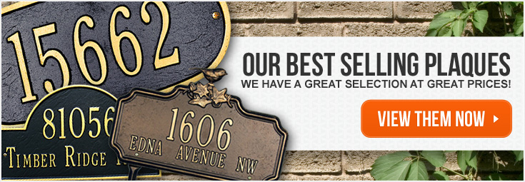 Best Selling Address Plaques - Great selection and prices!